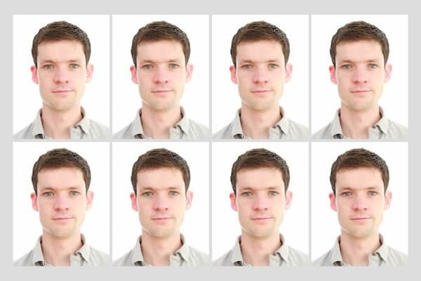 Simple printing of passport photos